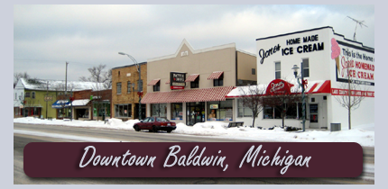 Downtown Baldwin, Michigan